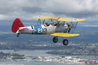 Flight Voucher Delux - Boeing Stearman Biplane Scenic flight