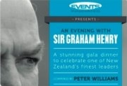 An Evening with Sir Graham Henry