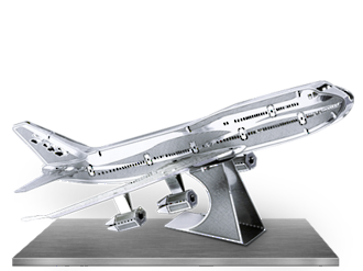 Metal Earth - 747 Jet Airplane