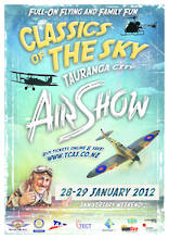 Classics of the Sky 2012 - Tauranga City Airshow DVD